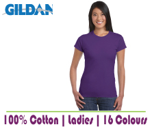 Blank Softstyle Ladies T