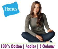 Blank Hanes Beefy L/S
