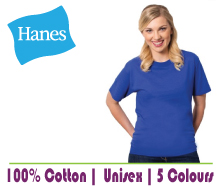 Blank Hanes Event T