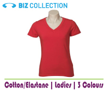 Ladies Stretch S/S T