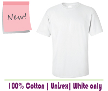 Blank White T Shirts